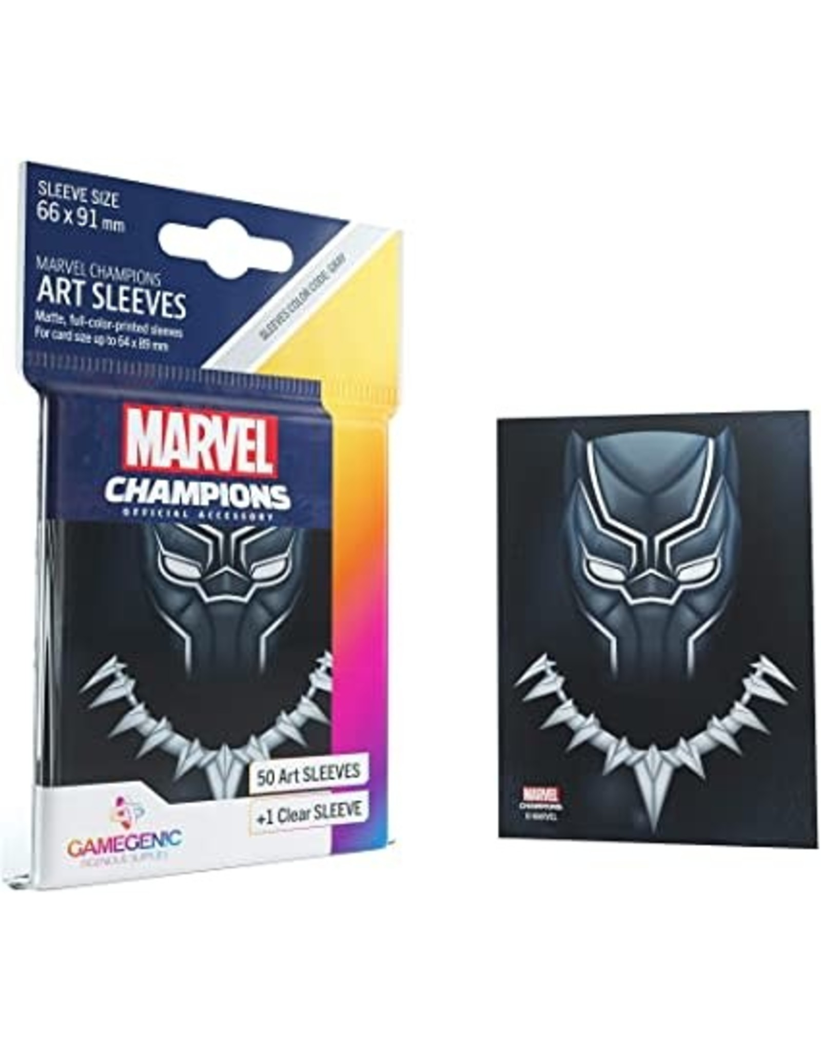 GameGenic DP: Marvel Champions Art Sleeves - Black Panther