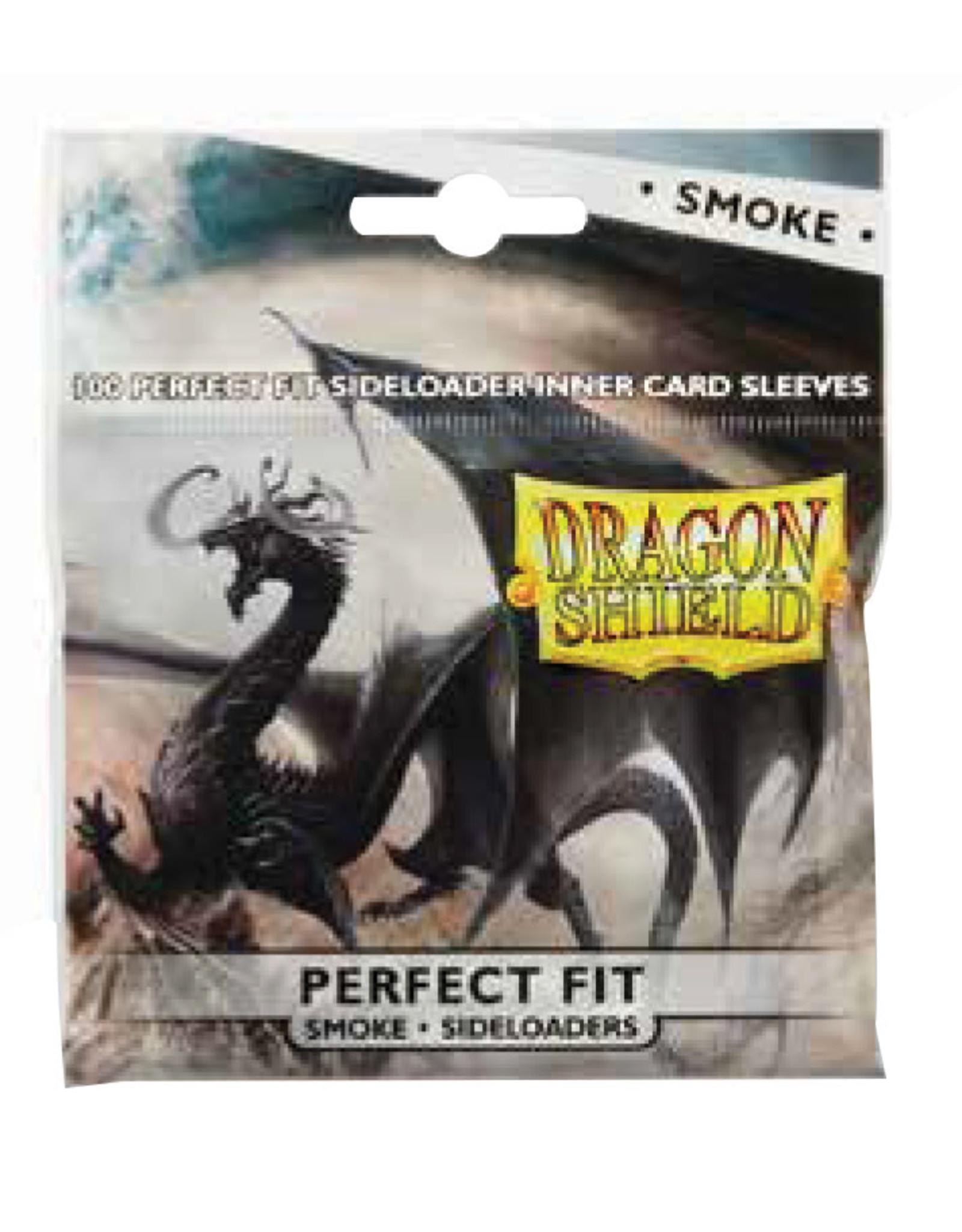 Dragon Shield Dragon Shields: Perfect Fit: (100) Side-Loading Smoke