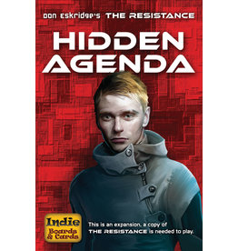Indie Boards and Cards The Resistance: Hidden Agenda Expansion