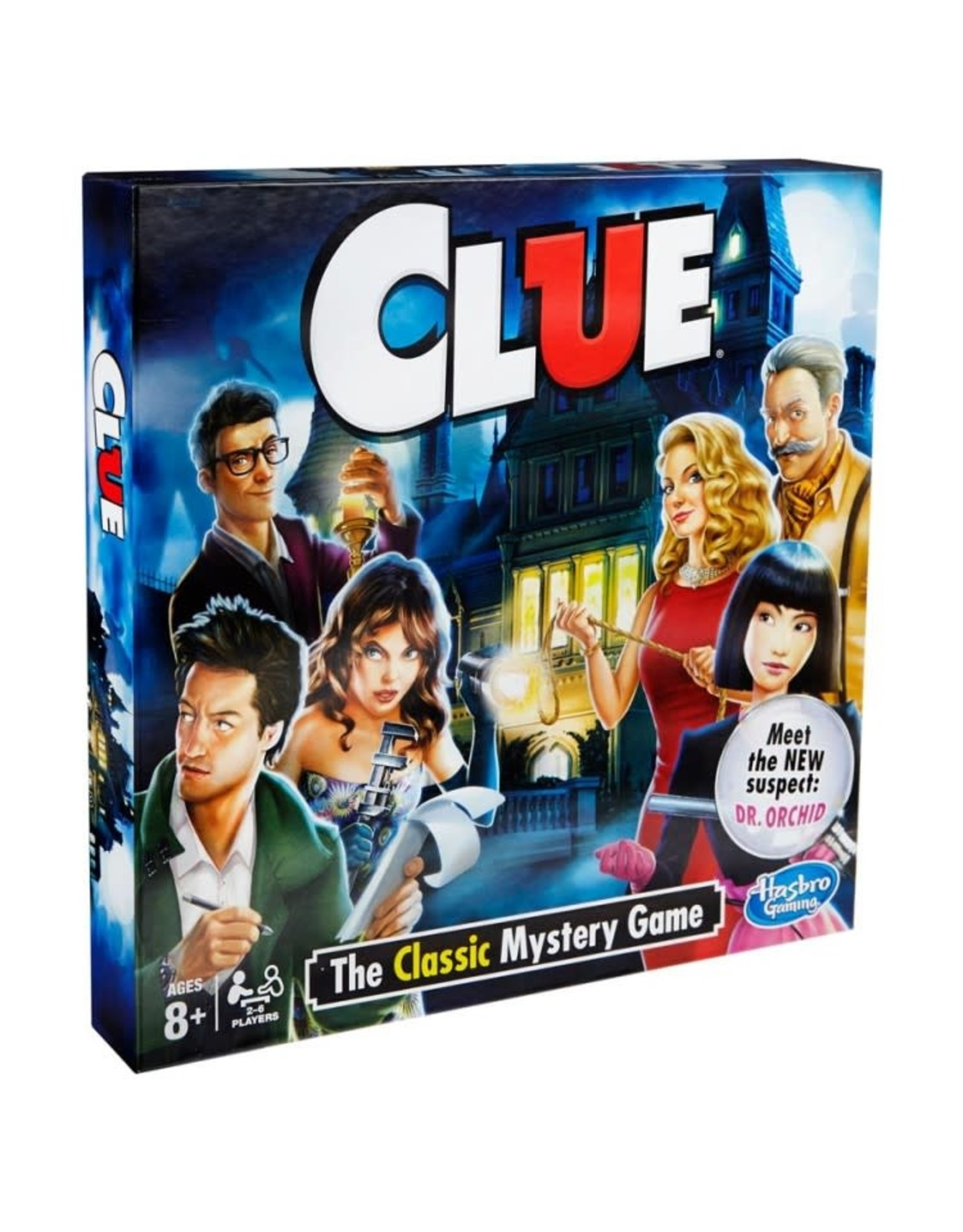Hasbro Clue: The Classic Mystery Game