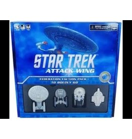 WizKids Star Trek Attack Wing: Federation Faction Pack - To Boldly Go