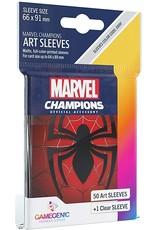 GameGenic Marvel Champions Art Sleeves - Spider-Man