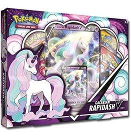 The Pokemon Company Pokemon Galarian Rapidash V Box