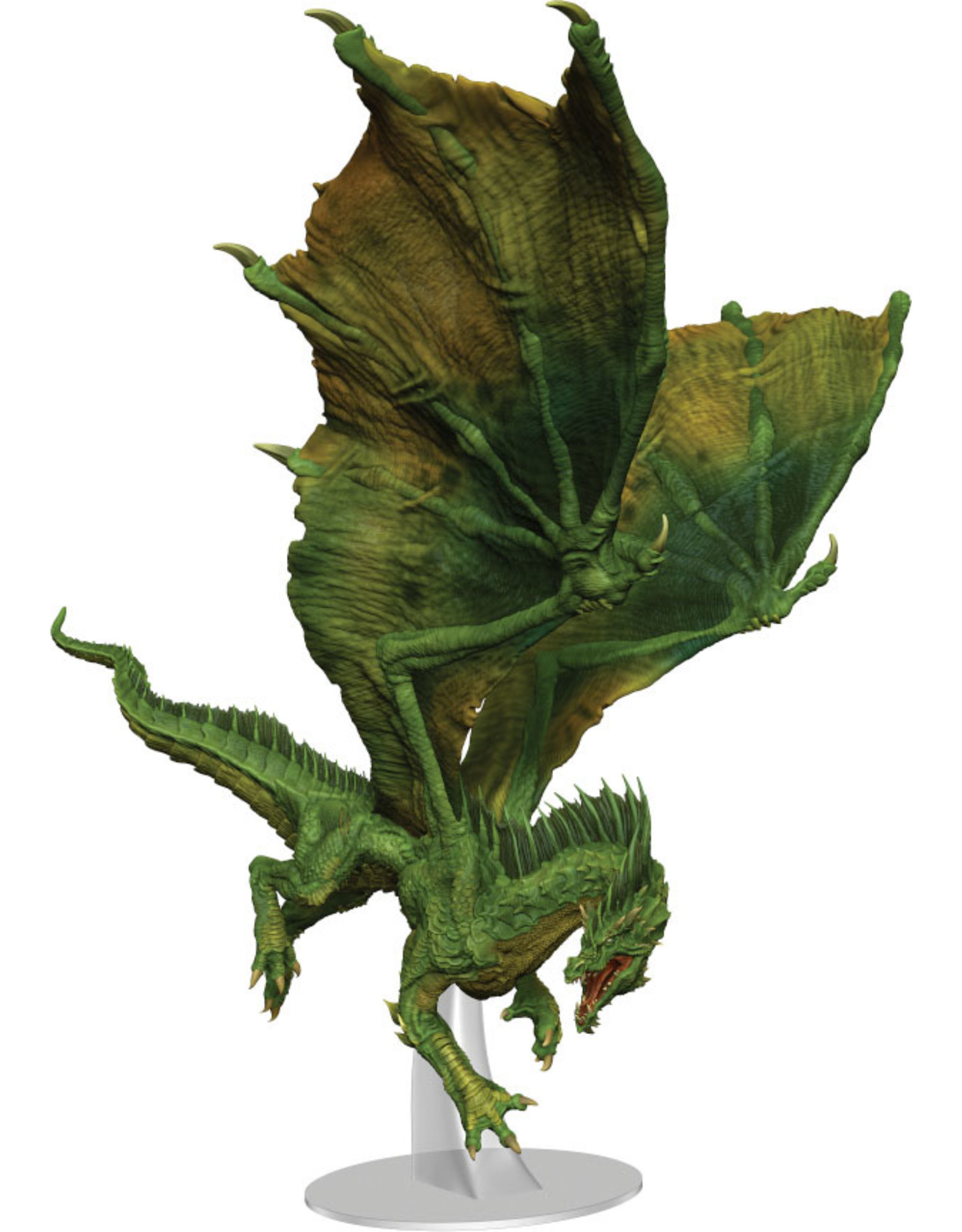 WizKids Dungeons & Dragons Fantasy Miniatures: Icons of the Realms - Adult Green Dragon Premium Figure