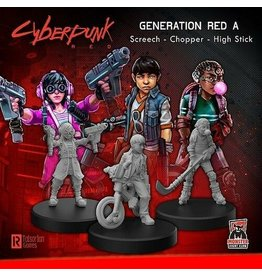 Monster Fight Club Cyberpunk Generation Red A