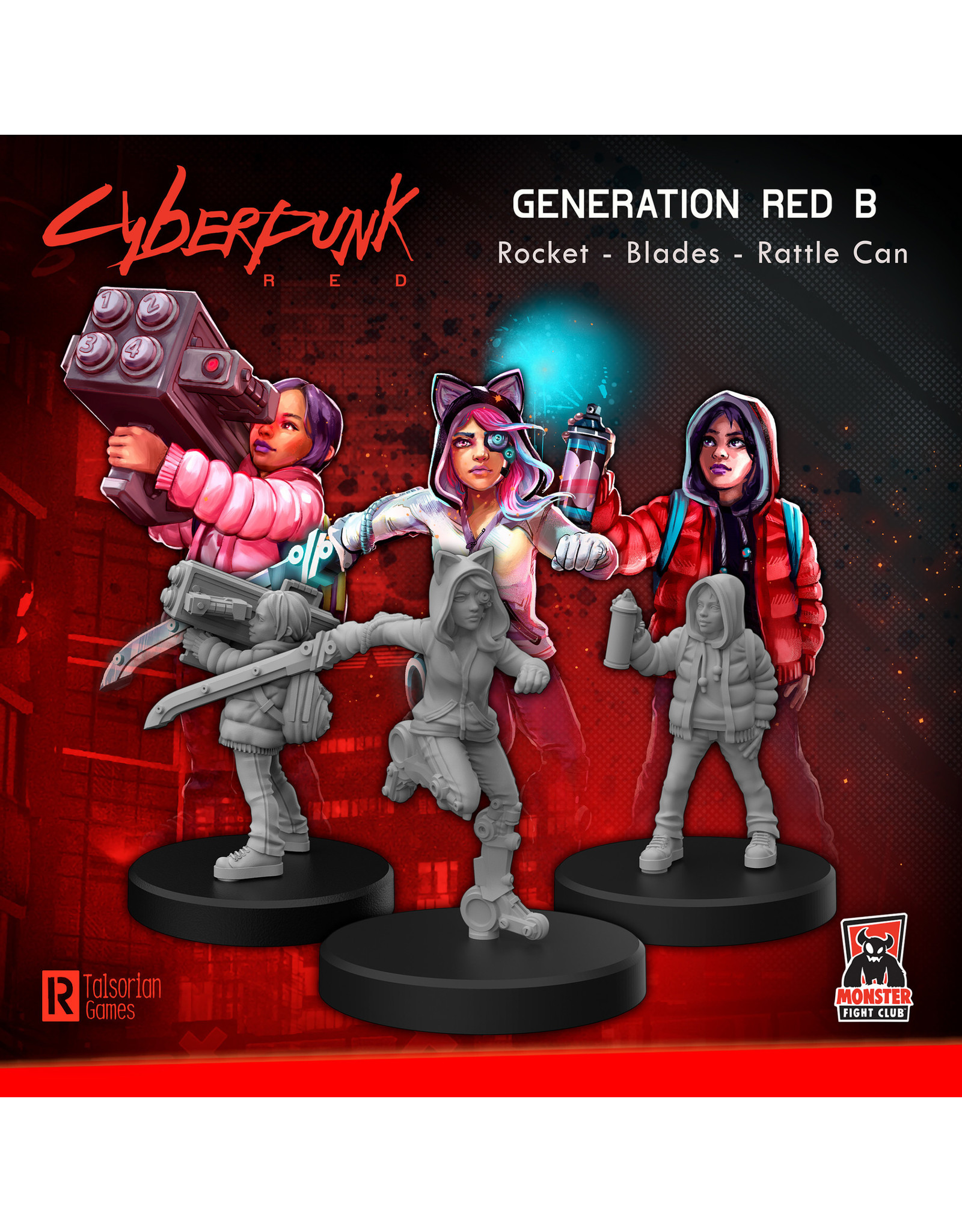 Monster Fight Club Cyberpunk Generation Red B