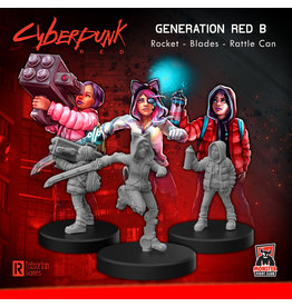 Monster Fight Club Cyberpunk Generation Red B