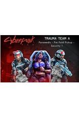 Monster Fight Club Cyberpunk Trauma Team A (Doc, Holder, Security)