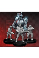 Monster Fight Club Cyberpunk Trauma Team B (Pilot - Security)