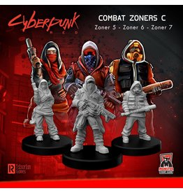 Monster Fight Club Cyberpunk Combat Zoners C (Lookouts)