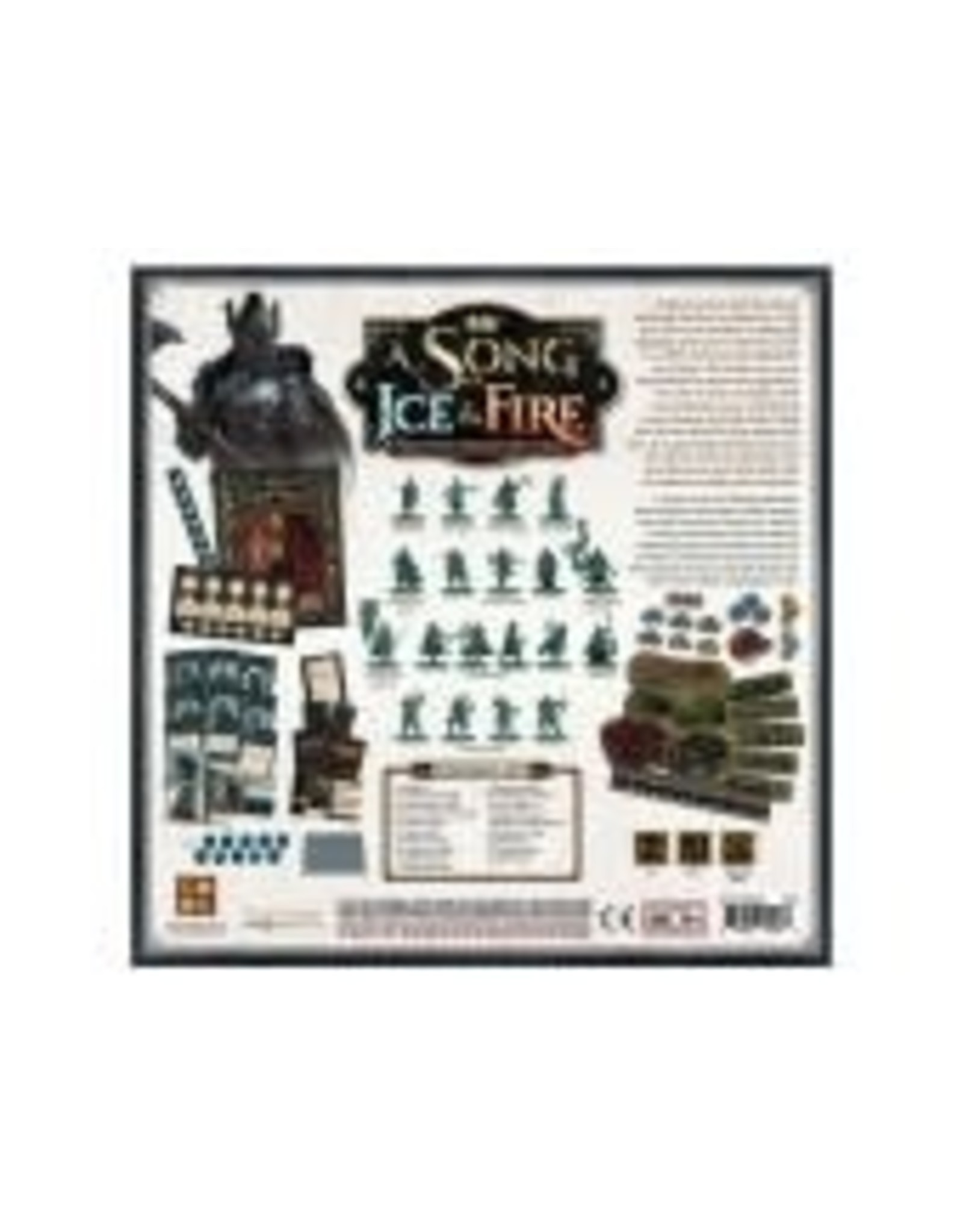CMON A Song of Ice and Fire: Greyjoy Starter Set