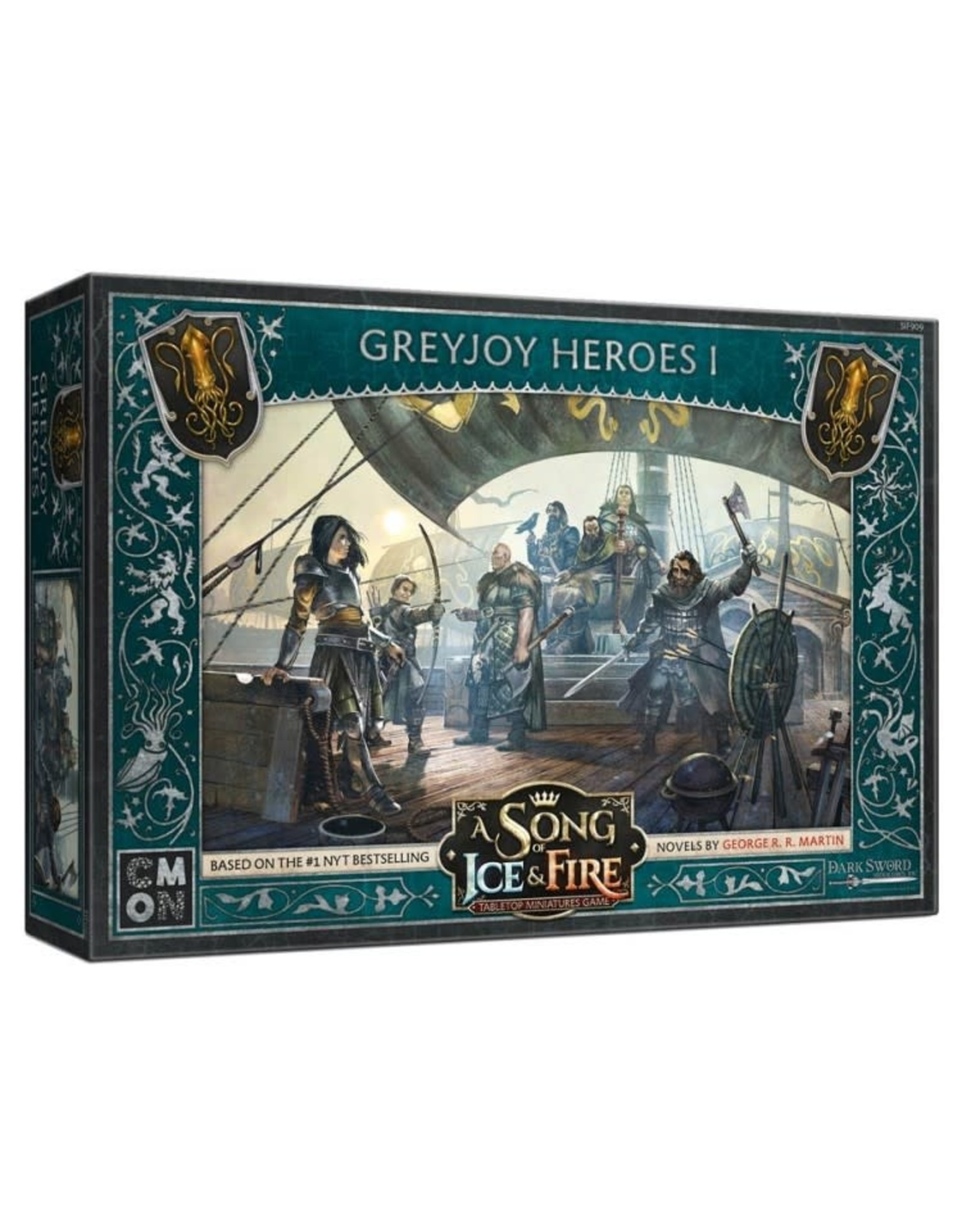 CMON A Song of Ice and Fire: Greyjoy Heroes #1