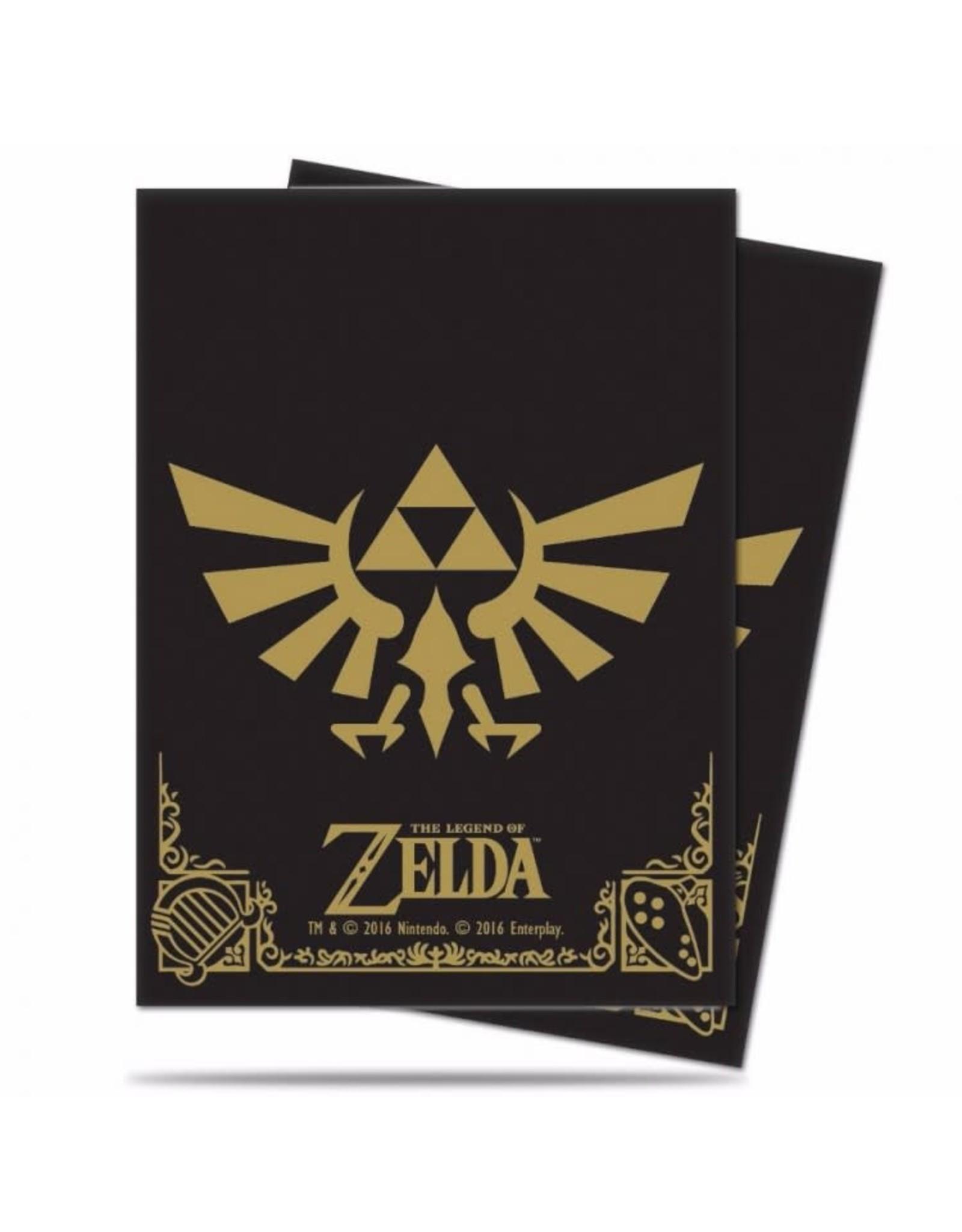 Ultra Pro DP: Zelda: Black and Gold (65)