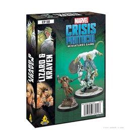 Atomic Mass Games Marvel Crisis Protocol - Lizard and Kraven