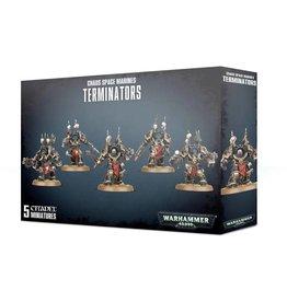 Games Workshop Chaos Space Marines Terminators