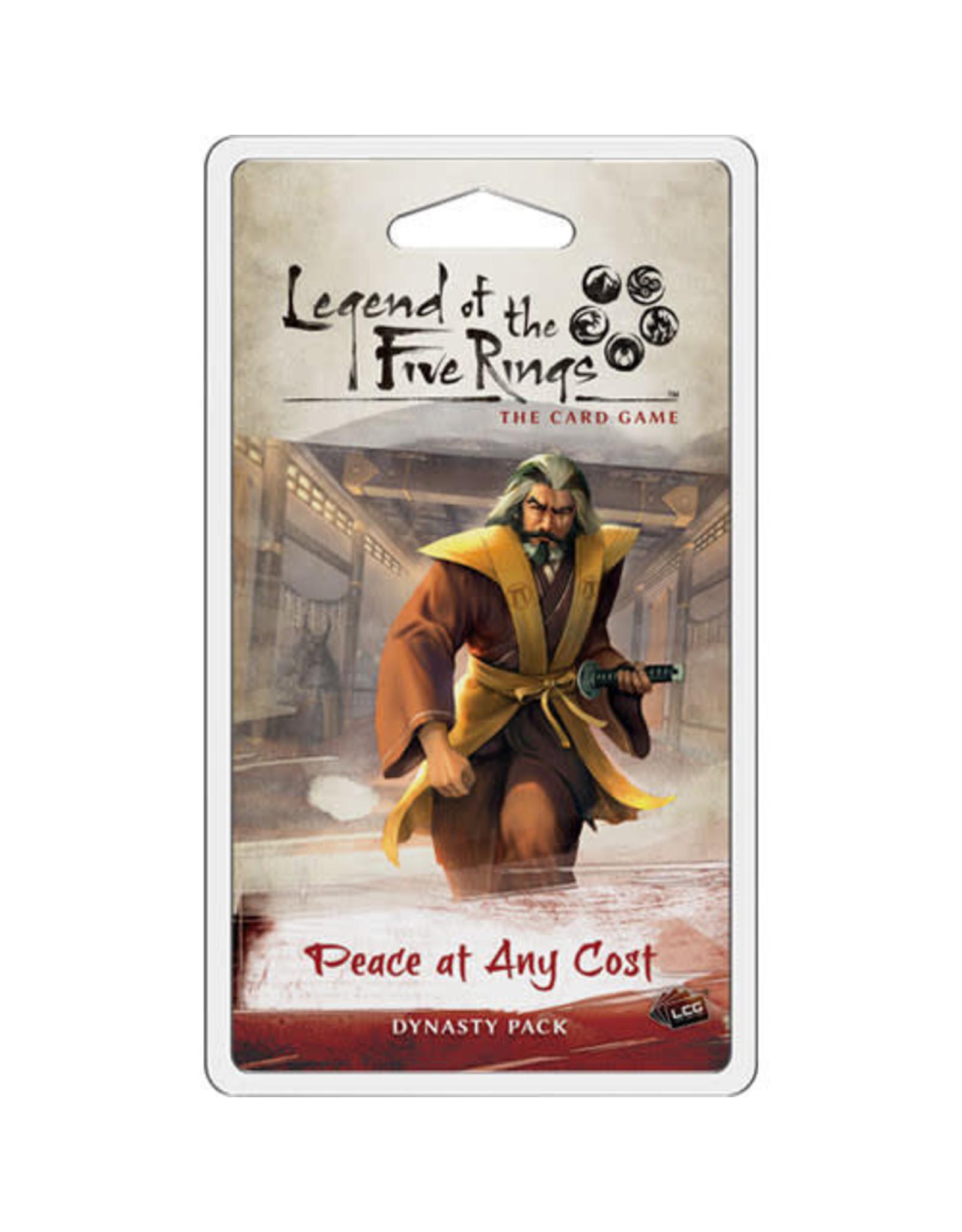 Fantasy Flight Games L5R LCG: Peace at Any Cost