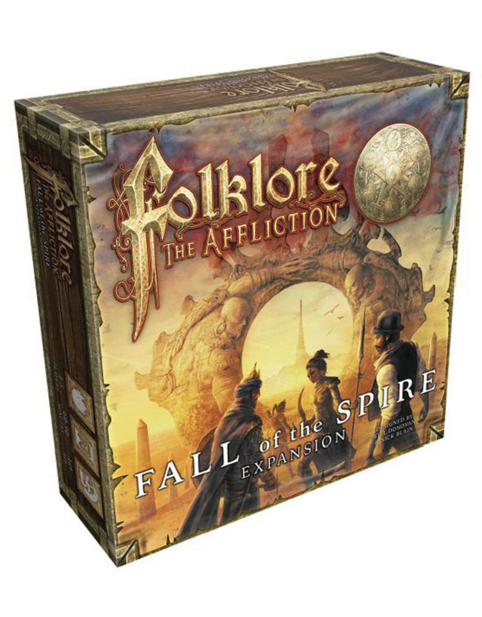 GreenBrier Games Folklore: The Affliction - Fall of the Spire Expansion