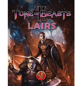Kobold Press Tome of Beasts 2 - Lairs (5E)