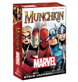 The OP Munchkin: Marvel Edition