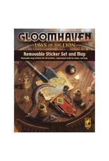 Cephalofair Games Gloomhaven: JotL: Rem. Sticker Set & Map