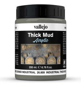 Vallejo DE: Mud: Industrial Thick Mud (200 ml.)