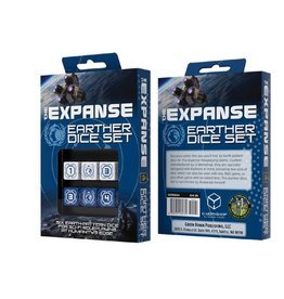 Green Ronin Publishing The Expanse RPG: Earther Dice Set