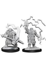 WizKids Dungeons & Dragons Nolzur`s Marvelous Unpainted Miniatures: W14 Dwarf Cleric Male