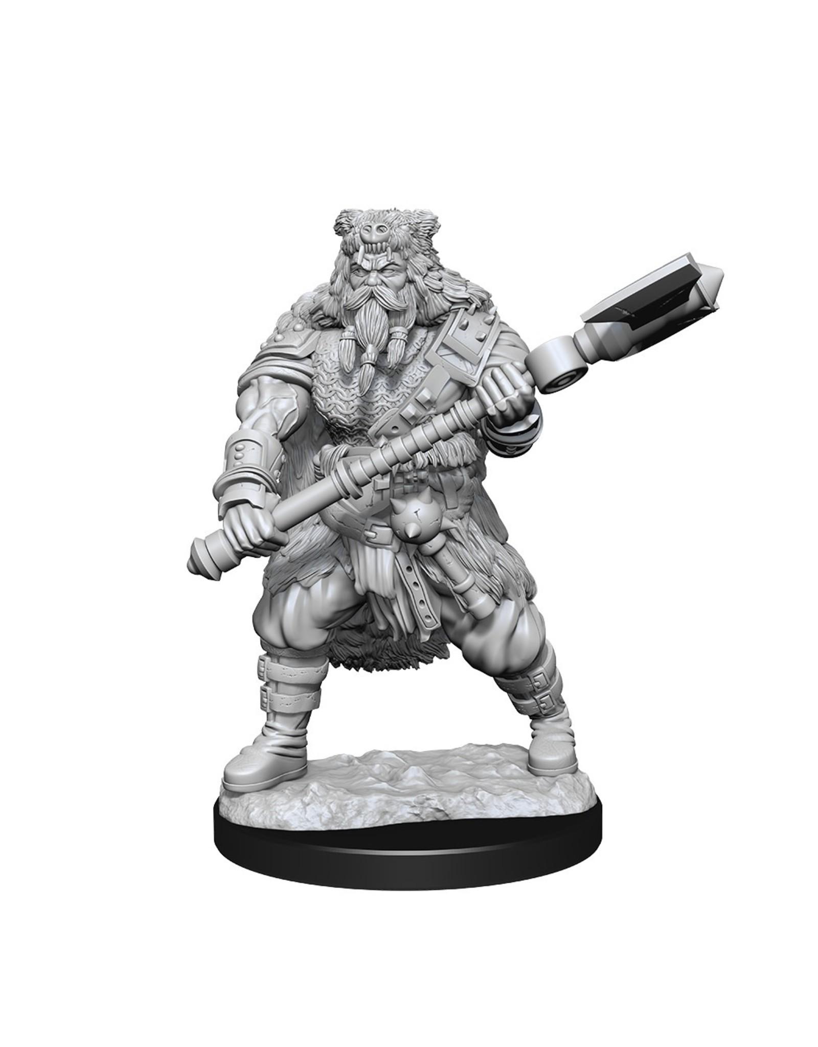 WizKids Dungeons & Dragons Nolzur`s Marvelous Unpainted Miniatures: W14 Human Barbarian Male