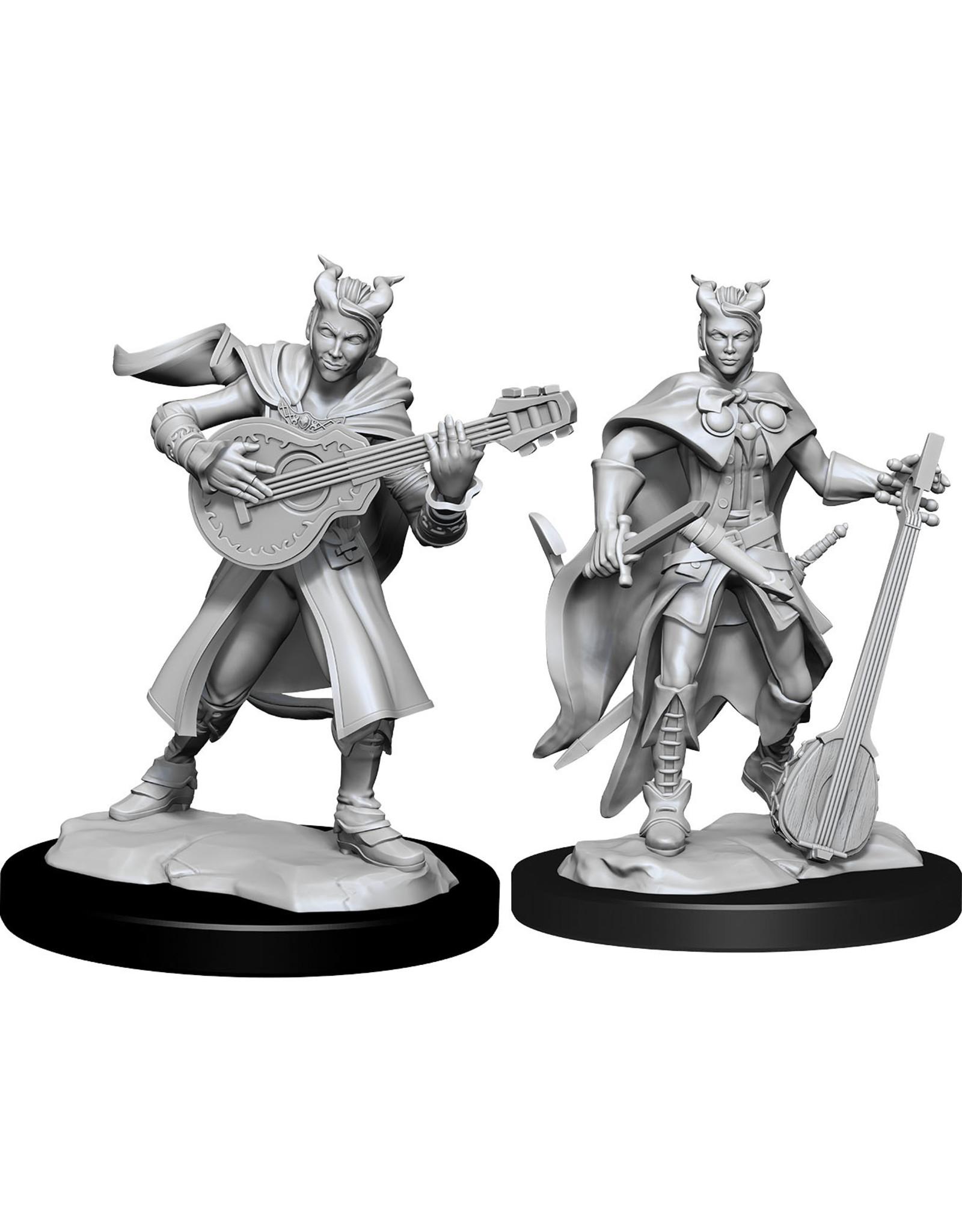 WizKids Dungeons & Dragons Nolzur`s Marvelous Unpainted Miniatures: W14 Tiefling Bard Female