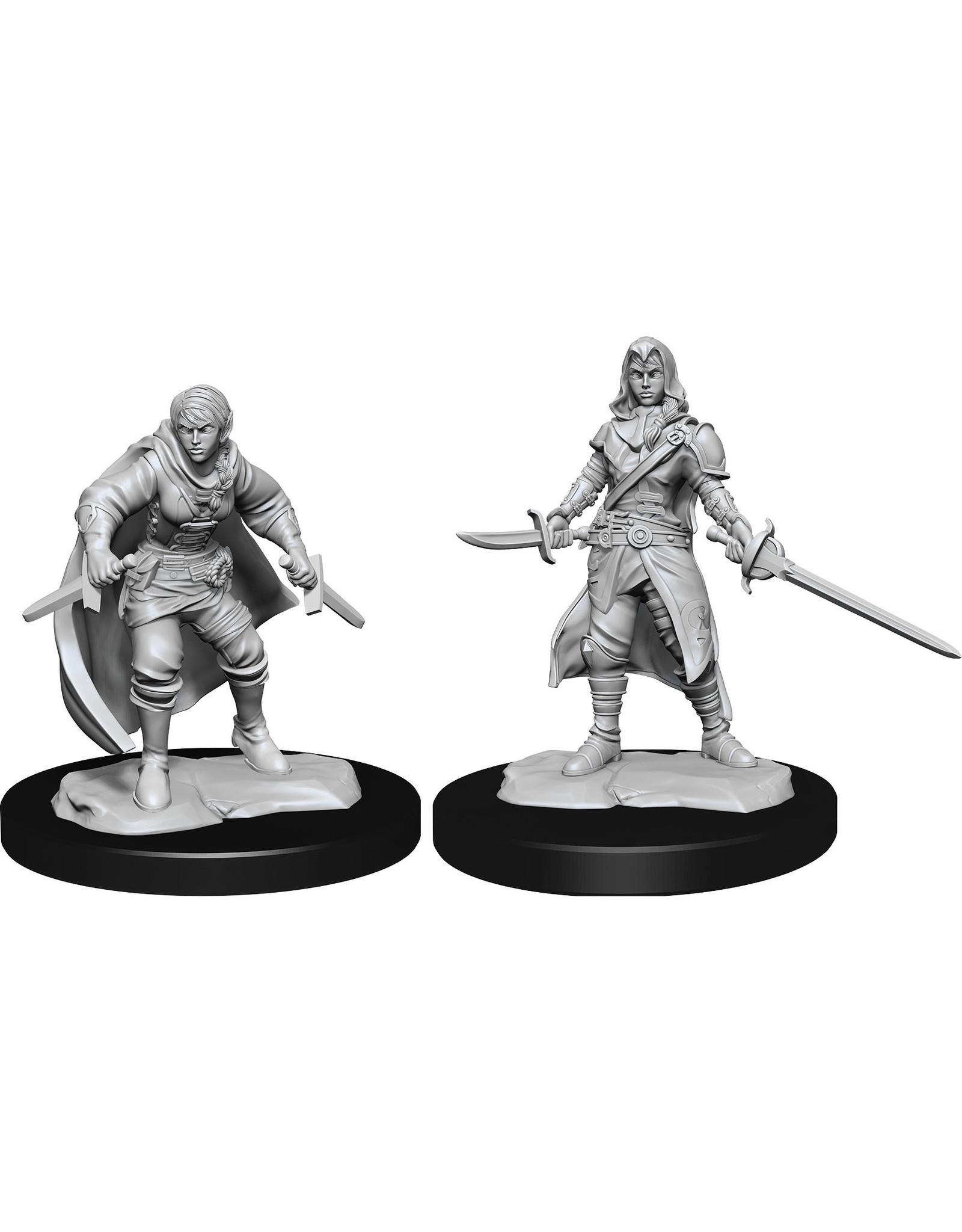 WizKids Dungeons & Dragons Nolzur`s Marvelous Unpainted Miniatures: W14 Half-Elf Rogue Female