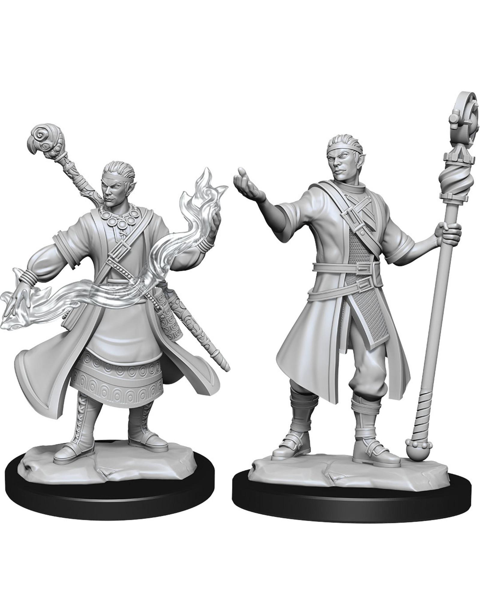 WizKids Dungeons & Dragons Nolzur`s Marvelous Unpainted Miniatures: W14 Half-Elf Wizard Male