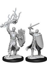 WizKids Dungeons & Dragons Nolzur`s Marvelous Unpainted Miniatures: W14 Half-Elf Paladin Male