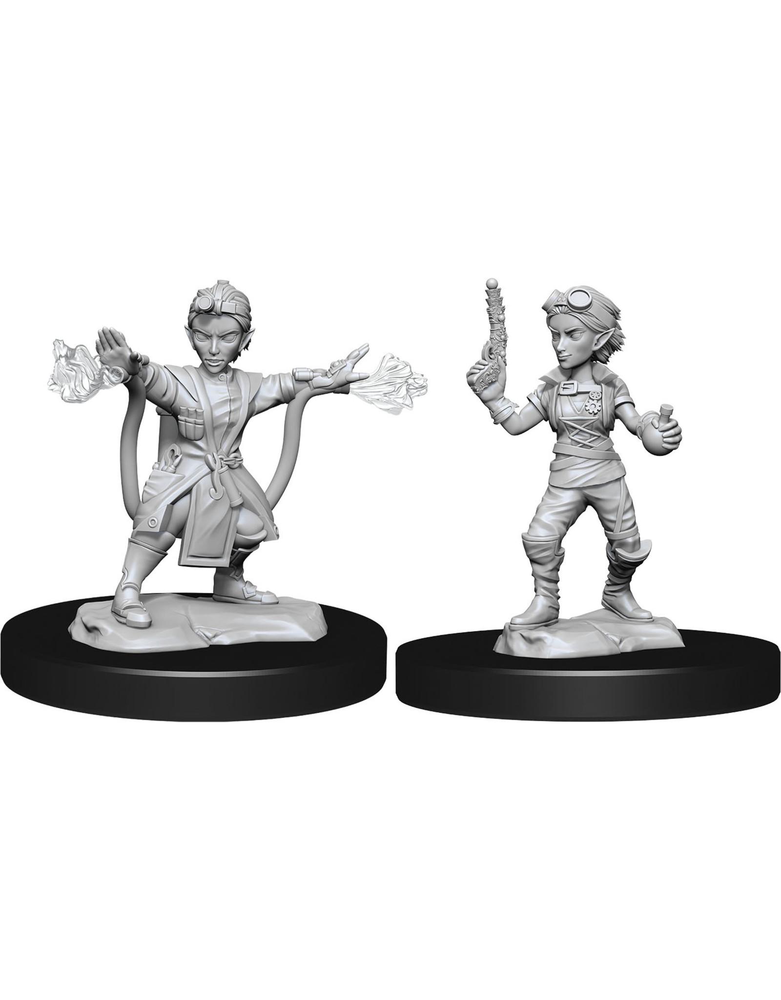WizKids Dungeons & Dragons Nolzur`s Marvelous Unpainted Miniatures: W14 Gnome Artificer Female