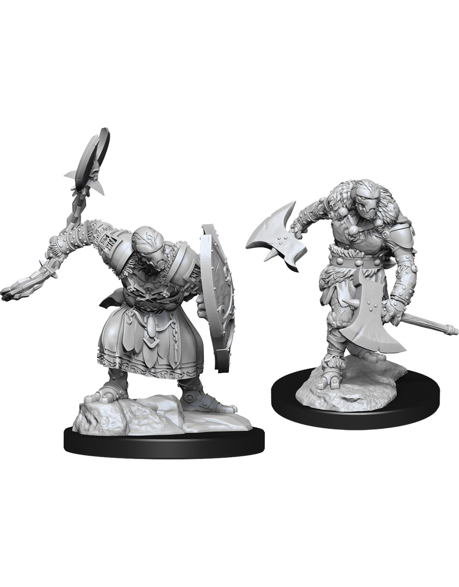 WizKids Dungeons & Dragons Nolzur`s Marvelous Unpainted Miniatures: W14 Warforged Barbarian