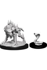 WizKids Dungeons & Dragons Nolzur`s Marvelous Unpainted Miniatures: W14 Iron Cobra & Iron Defender