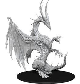 WizKids Pathfinder Deep Cuts Unpainted Miniatures: W14 Blue Dragon