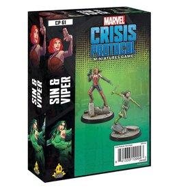 Fantasy Flight Games Marvel Crisis Protocol - Sin and Viper Character Pack