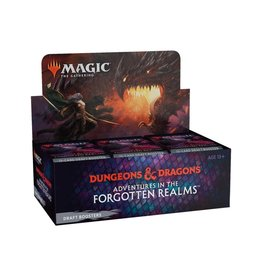 Wizards of the Coast Magic the Gathering CCG: Adventures in the Forgotten Realms Draft Booster