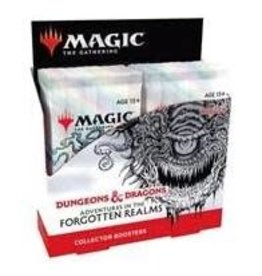 Wizards of the Coast Magic the Gathering CCG: Adventures in the Forgotten Realms Collector Booster Box