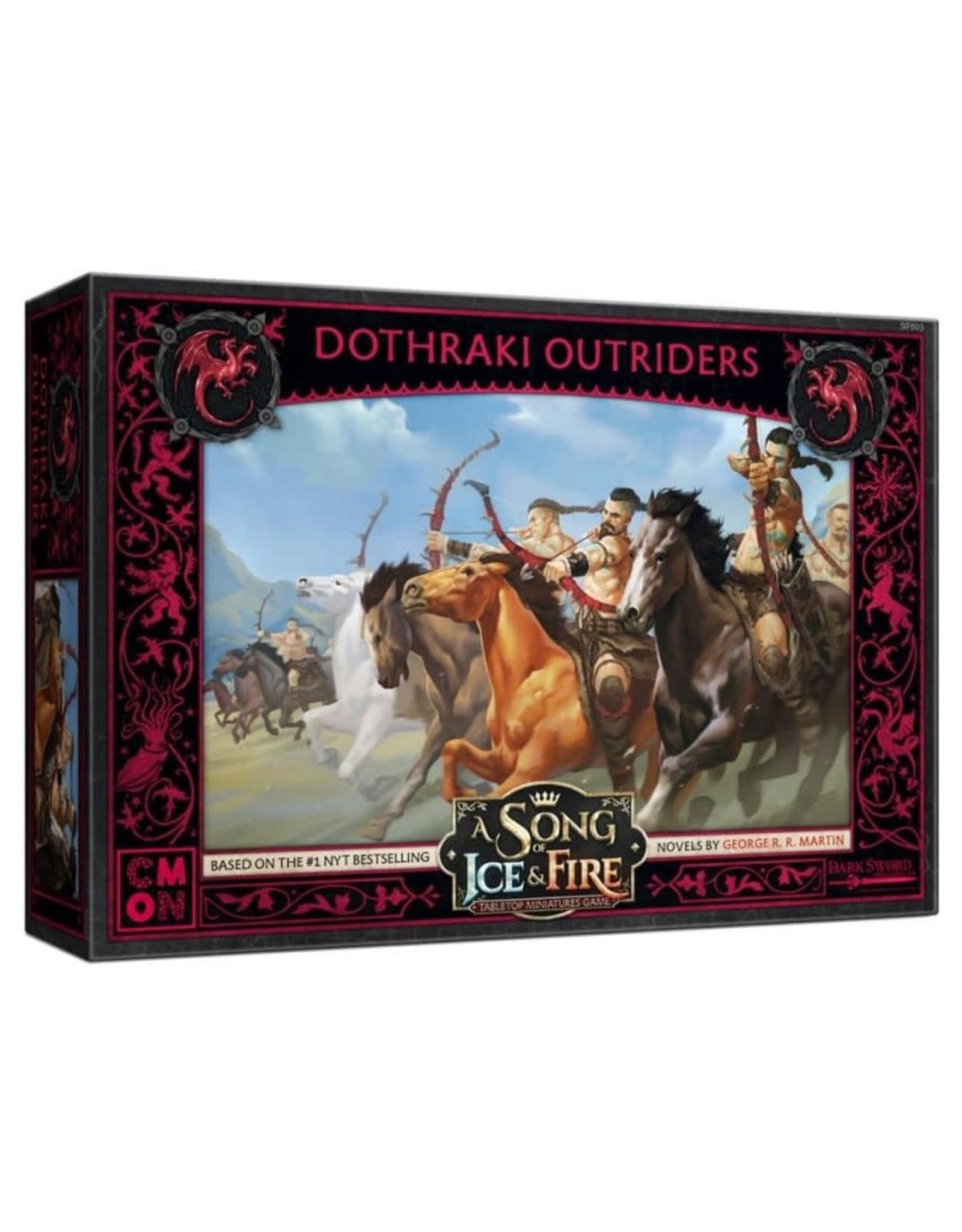 CMON A Song of Ice and Fire: Targaryen Dothraki Outriders