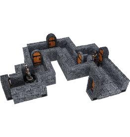 WizKids WarLock Tiles: Expansion Pack - 1 in Dungeon Straight Walls