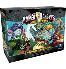 Renegade Game Studios Power Rangers - Heroes of the Grid: Villain Pack #3 - Legacy of Evil Expansion
