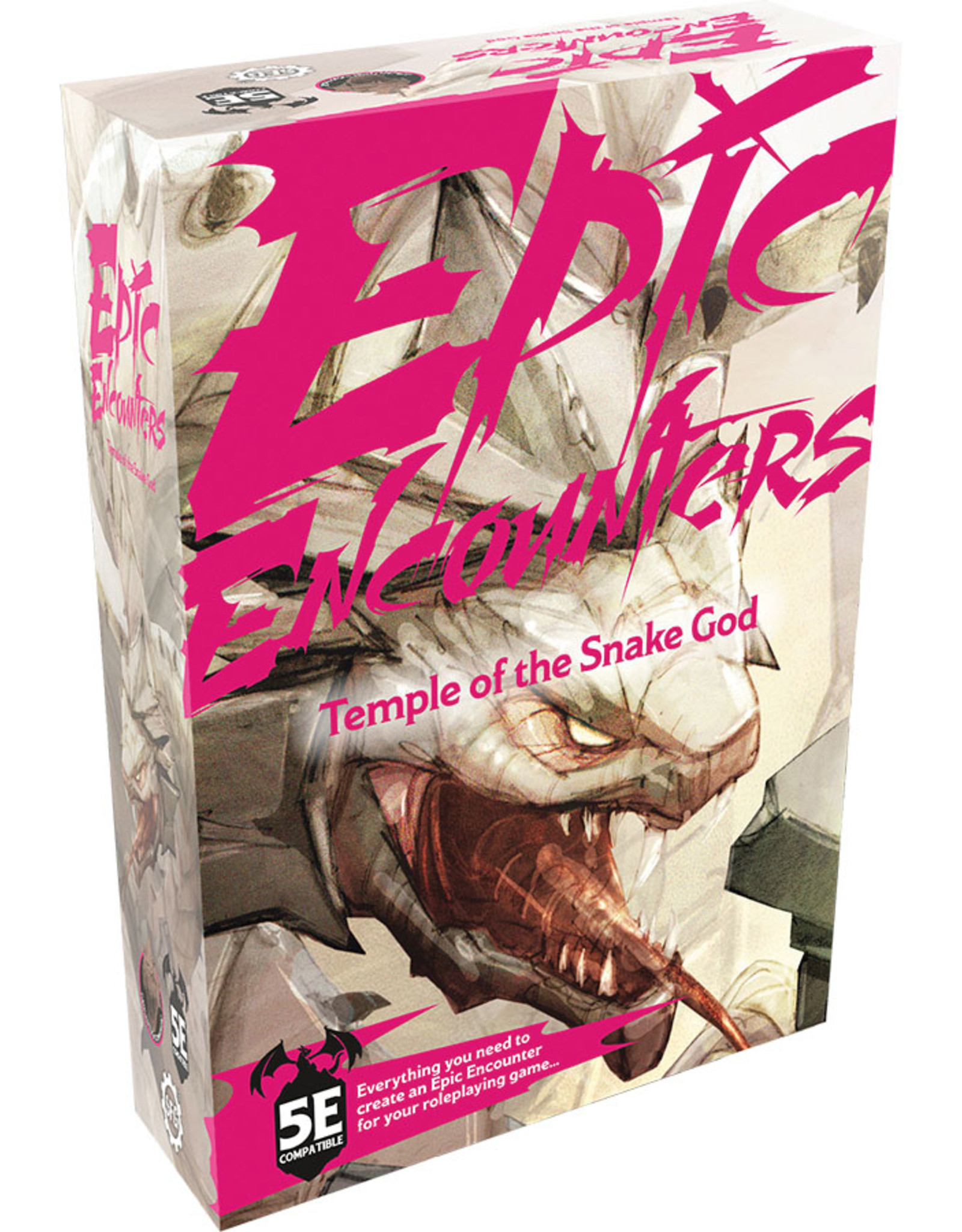 Steamforged Games Epic Encounters: Temple of the Snake God