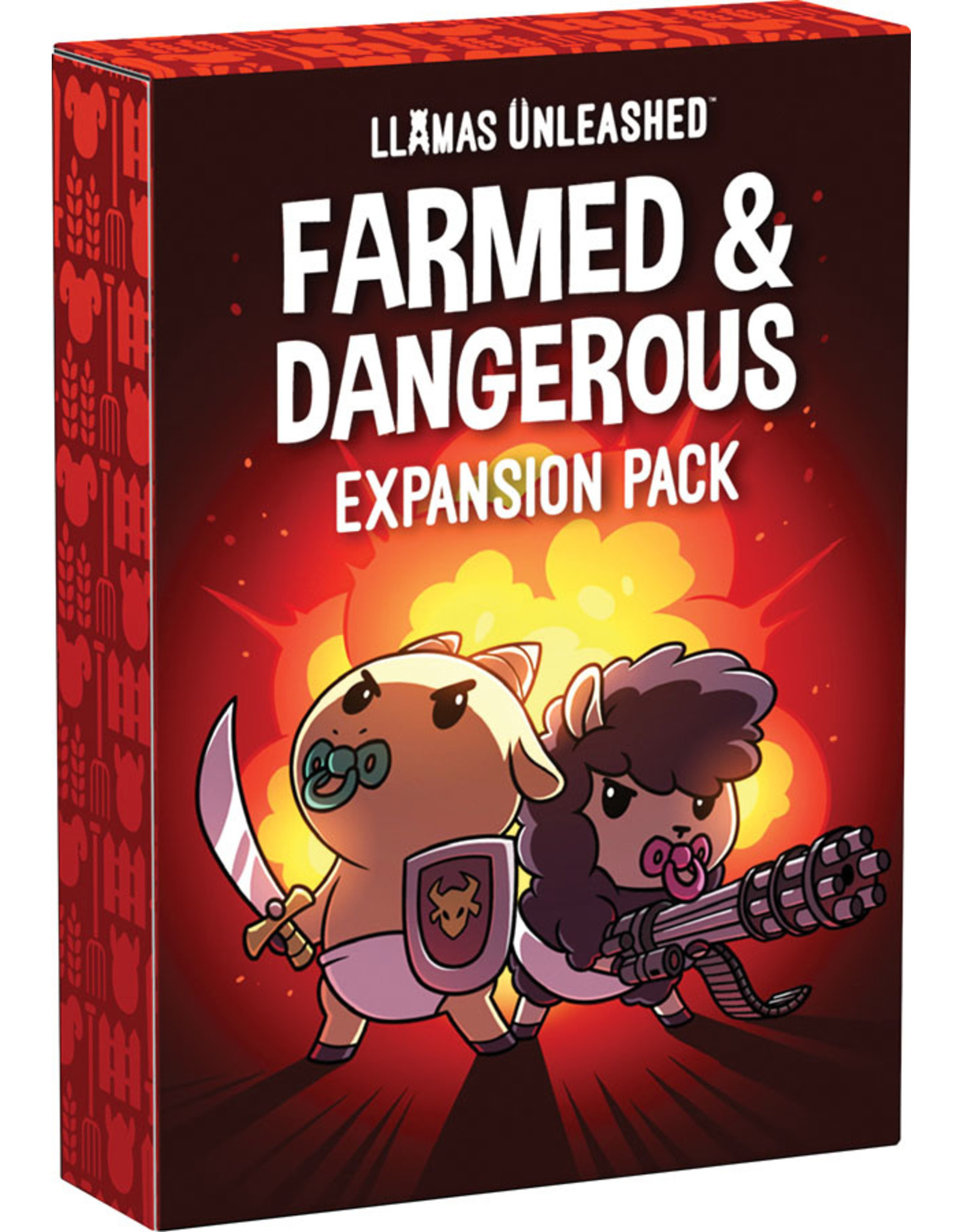 Teeturtle Llamas Unleashed: Farmed and Dangerous Expansion