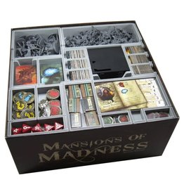 Folded Space Box Insert: Mansions of Madness 2E & Exp