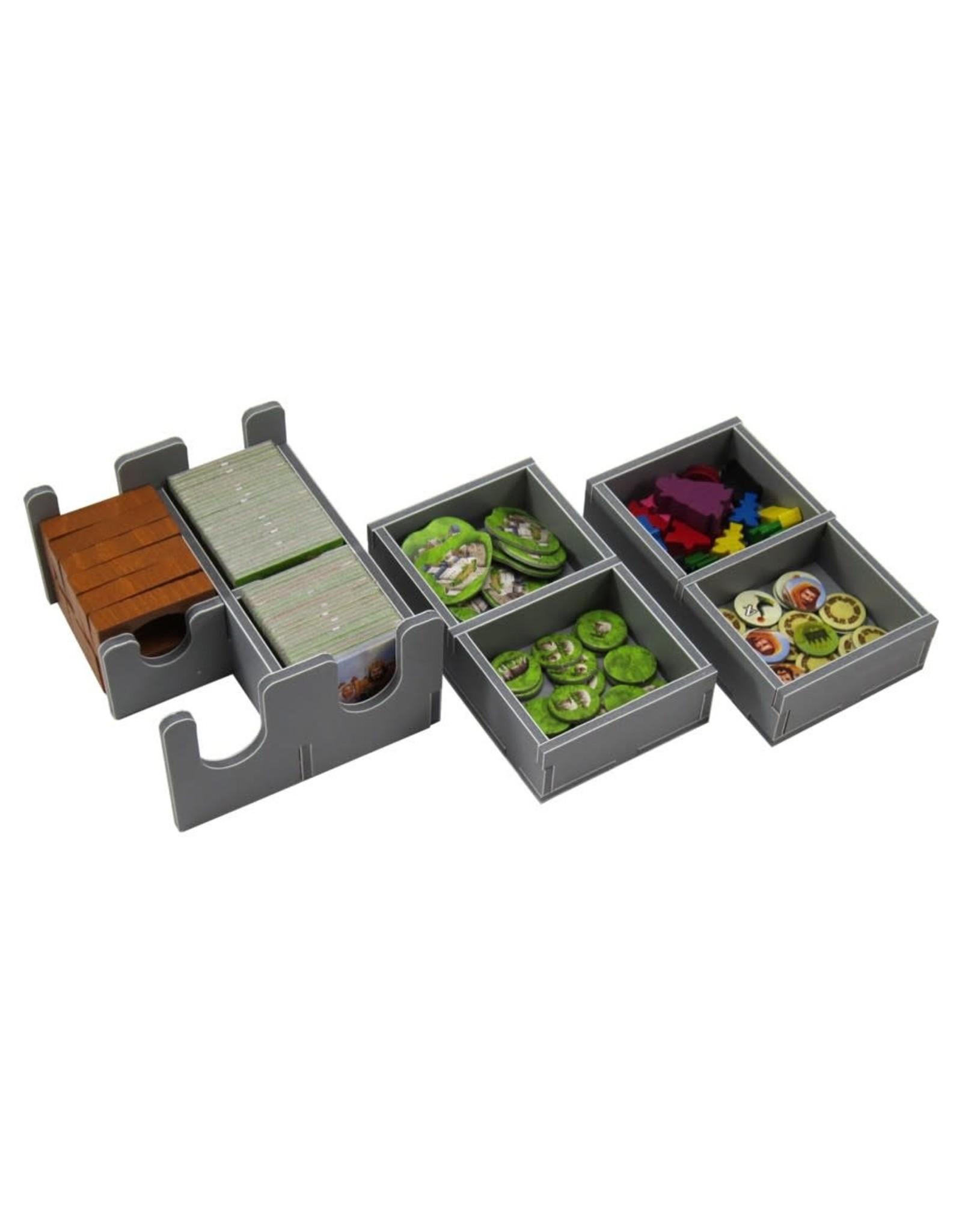 Folded Space Box Insert: Carcassonne & Exps