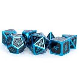 Metallic Dice Games 7-set: BKBUbu Metal Enamel