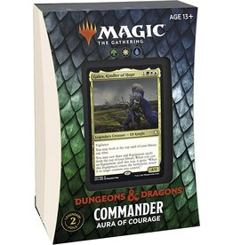 Wizards of the Coast Magic the Gathering CCG: Adventures in the Forgotten Realms Commander Deck - Aura of Courage