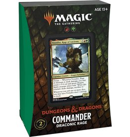 Wizards of the Coast Magic the Gathering CCG: Adventures in the Forgotten Realms Commander Deck - Draconic Rage