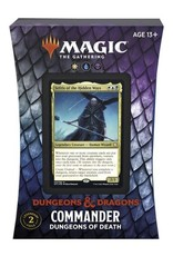 Wizards of the Coast Magic the Gathering CCG: Adventures in the Forgotten Realms Commander Deck - Dungeons of Death